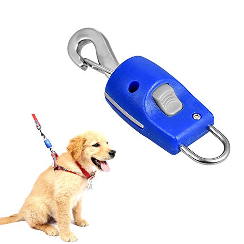 Zunea Dog Collar Leash Connector, Magnetic Automatic Magic Latch One Touch Release Harness Lead Connector for Traction…
