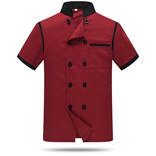 chef uniform red - 7
