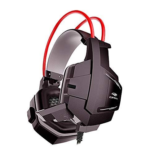 Fone Com Microfone Game Sparrow Ph-G11Bk, C3Tech, Microfones E Fones De Ouvido, C3TECH, Microfones e fones de ouvido