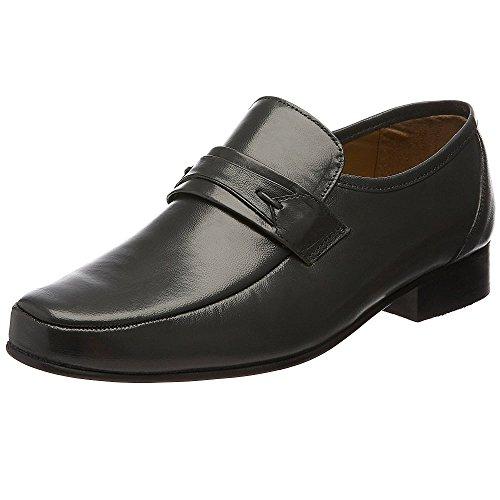 Mocassini Leather Grigio Rombah Grey Wallace Uomo OU4xw45qZ