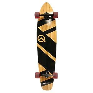 Quest 44-Inch Super Cruiser Artisan Bamboo Longboard Skateboard