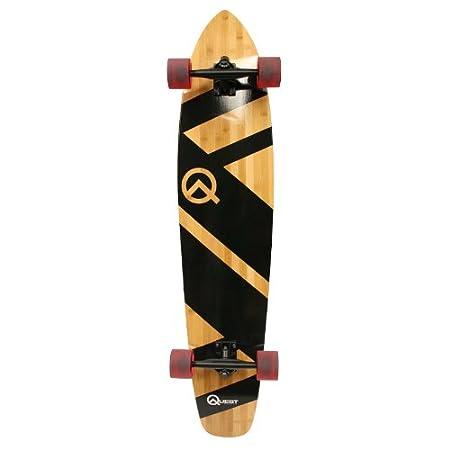 Quest Super Cruiser Artisan Bamboo Skateboard Longboard