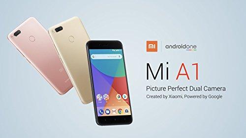 Straight Talk Phone A1 Unlocked Android One, 5.5 Inch Display, 4GB RAM + 64GB ROM, Dual Camera, Fingerprint Sensor, NET10, Metro PCS - Black