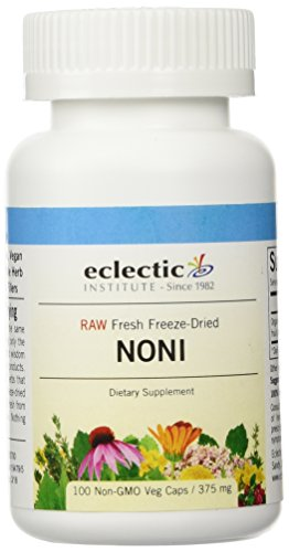 Eclectic Institute - Noni Freeze-Dried, 375 mg, 100 (375 Mg 100 Capsules)
