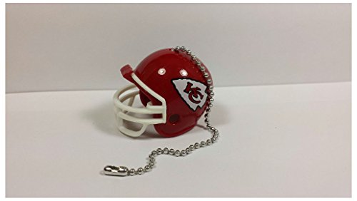 (NEW NFL Ceiling Fan Helmet Pull Chain Lamp Pull Chain (Kansas City Chiefs))