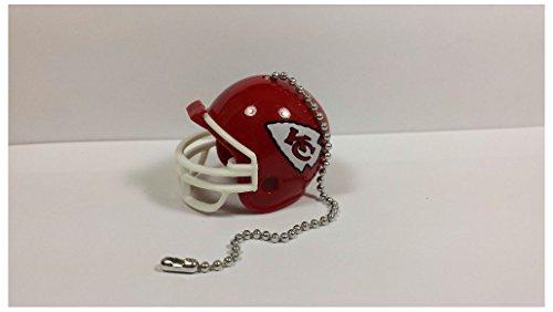 NEW NFL Ceiling Fan Helmet Pull Chain Lamp Pull Chain (Kansas City Chiefs)