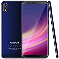 CUBOT J3 Android Go Smartphone Unlocked, 5.0 inch (18:9) Touch Screen, 1GB RAM+16GB ROM,3G Dual SIM, 8MP+5MP Dual Camera, WIFI, GPS, G-sensor,Bluetooth (Blue)