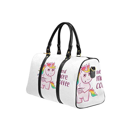 InterestPrint Carry on bag Travel Duffel Tote Unisex Weekender Bag Birds and Winter Sweet
