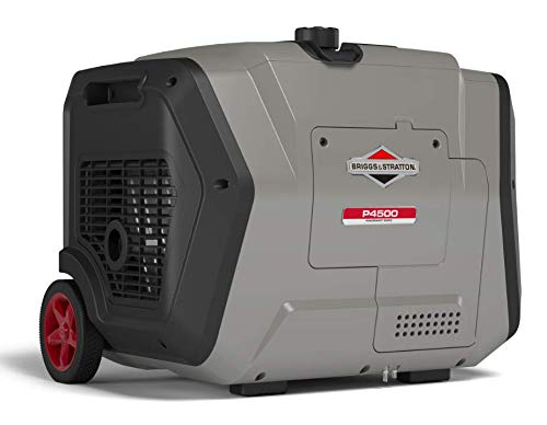 (Briggs & Stratton P4500 PowerSmart Series Inverter Generator, Electric Start, Powered by Briggs & Stratton Engine)