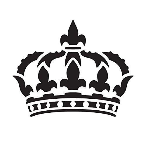 Queens Crown - Art Stencil - 6