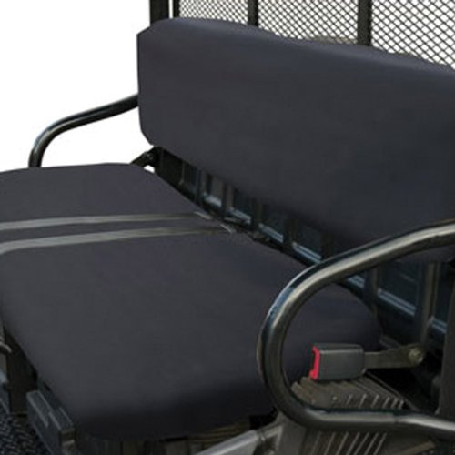 Classic Accessories QuadGear UTV Seat Cover (Black, Fits Polaris Bench) by Classic Accessories (Image #1)