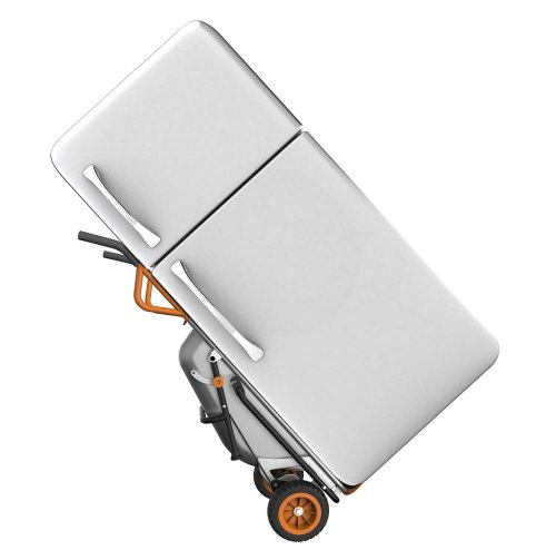 WORX-WG050-Aerocart-8-in-1-All-Purpose-WheelbarrowYard-CartDolly-18-x-12-x-42-Orange-Black-and-Silver