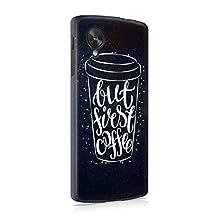 But First Coffee Mug Hard Plastic Phone Case For LG Google Nexus 5