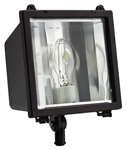Lithonia Lighting F150ML M4 150W Metal Halide Floodlight with Glass Lens and Bulb, Bronze