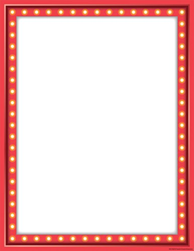 Teacher Created Resources Marquee Blank Chart (7530)