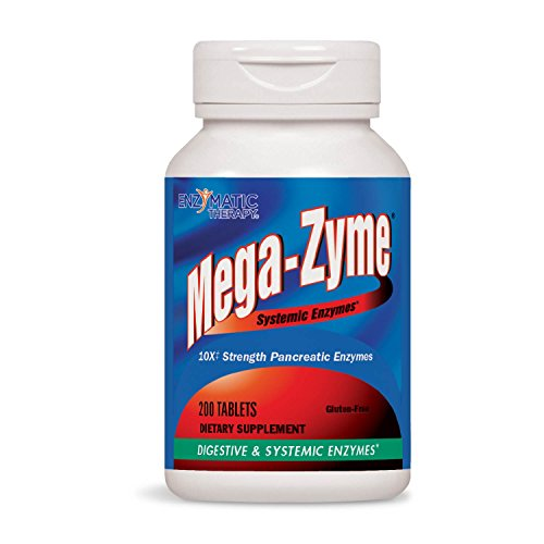 Enzymatic Therapy Mega-zyme, 200 Tablets by Enzymatic Therapy