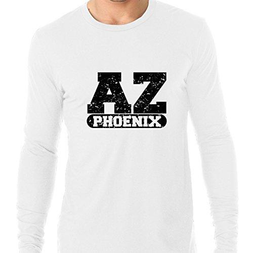 Phoenix, Arizona AZ Classic City State Sign Men's Long Sleeve T-Shirt -