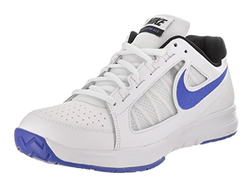 Nike Air Vapor Ace Zapatillas de tenis, Hombre white medium blue black 105