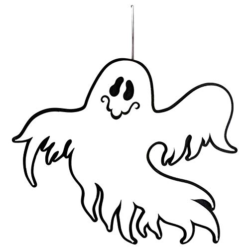 CAPTHOME Halloween Creepy Spooky Scary Ghost Non-Woven Hanging Ghost Wall Door Pendant Decoration Halloween Party Supplies]()