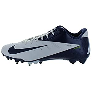 New! NIKE Vapor Talon Elite Low Football Cleats Navy Blue & White Football Shoes - Size 13