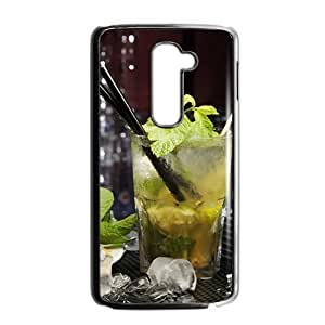 Fresh lemon drink nature style fashion phone case for LG G2