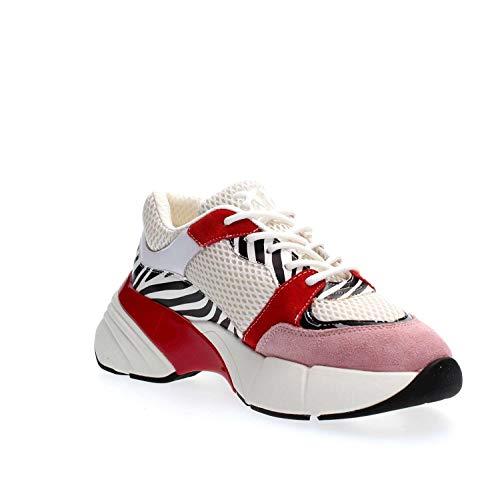 Enfiler Zgz Pinko Multicolore Baskets rosso Ametista Femme Sneaker bianco nero qgFgAnR