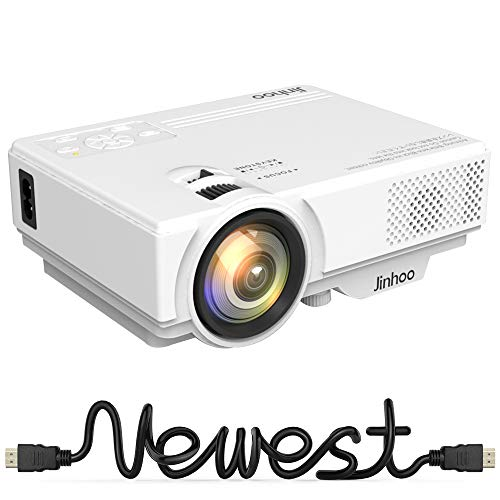 2019 Newest, Mini Projector 1080...