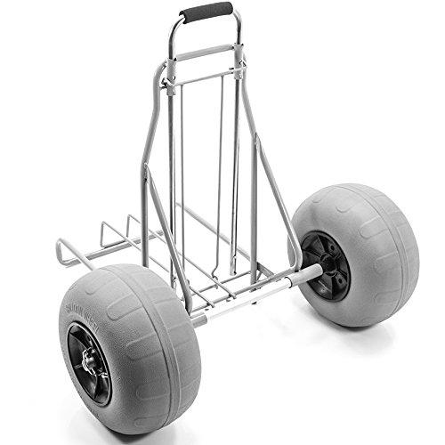 Challenger al aire libre playa - carro plegable grande globo neumáticos movilidad carrito de arena: Amazon.es: Oficina y papelería