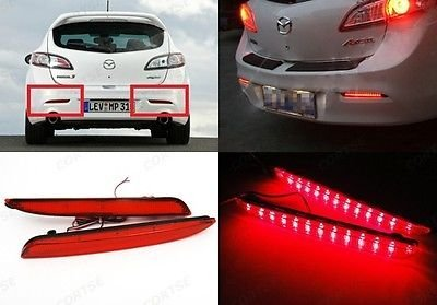 Mazdaspeed 3 Oem Led Tail Lights in US - 4