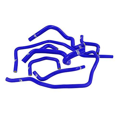 Turbo Hose Kit 10 pcs Intercooler Radiator Blue Tube Fit For 2001-2006 Subaru Impreza WRX: