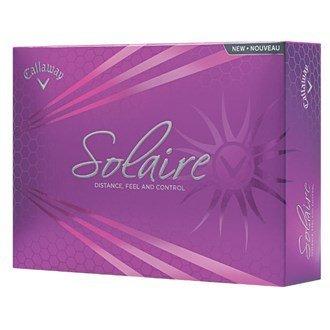 Callaway Solaire Golf Balls (12 Balls) by Callaway (Callaway Solaire Golf Balls)