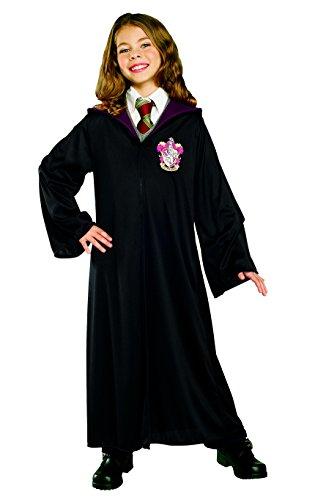 [Harry Potter Hogwarts Gryffindor GIRLS Kids Youth Robe Costume (L)] (Hogwarts Robes Gryffindor)