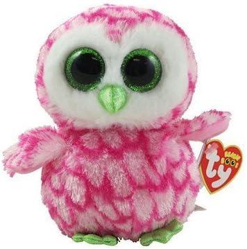 "Original ty Beanie Boos Bubbly Owl  Plush Doll Stuffed Toy 6/"" New NO TAG Gift"
