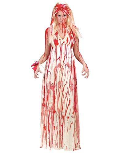 Horror Film Halloween Costumes (Adult Prom Nightmare 80s Horror Film)