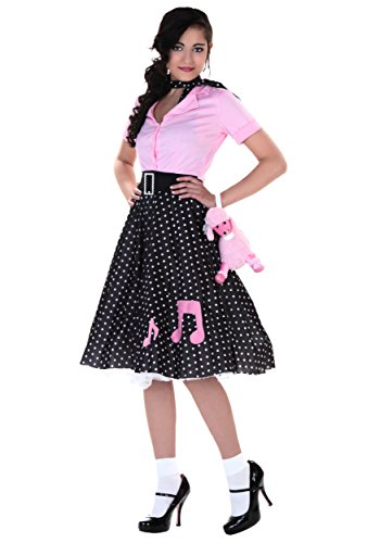 Halloween Costumes 5x (Plus Size Sock Hop Cutie Costume 5X)