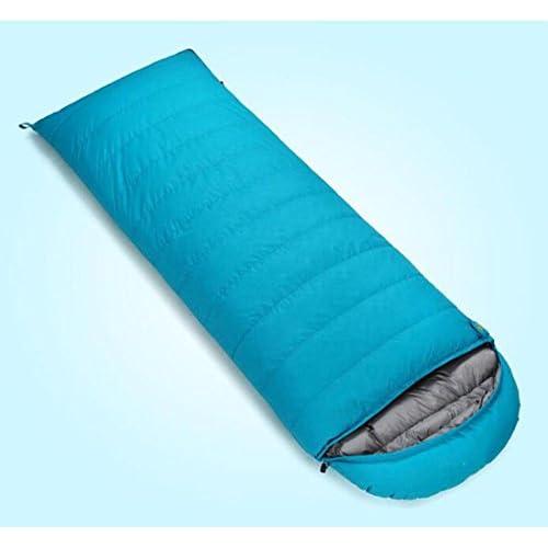Alger Sac de couchage vers le bas sac de couchage ultra - léger en plein air sac de couchage camping doux enveloppes pour adultes paquet de repas sacs de couchage, blue, 2500 grams of cashmere