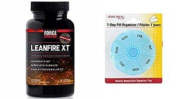 Factor LeanFire XT termogénico quemador de grasa peso pérdida 60 cuenta la fuerza con gratis 7