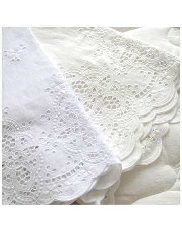 Broderie Anglaise algodón ojal encaje tela 136 cm – por el patio yh1519