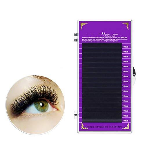 faux mink eyelash extensions individual eyelashes false eyelashes J B C D soft and natural eyelashes,C,0.20mm,10mm
