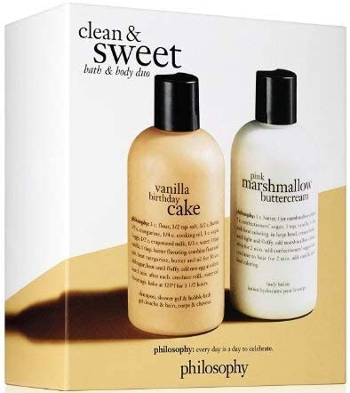 Amazing Philosophy Clean And Sweet Bath Body Duo Vanilla Birthday Birthday Cards Printable Giouspongecafe Filternl