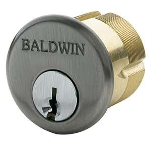 Baldwin 8330 2 1 2 Quot Mortise Cylinder C Keyway Antique Nickel Door Hardware Amazon Com