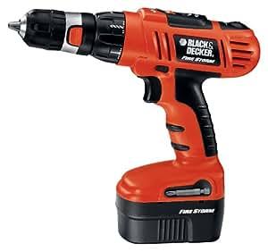 Black & Decker FSD142K-2 14.4-Volt FireStorm Cordless Drill Kit