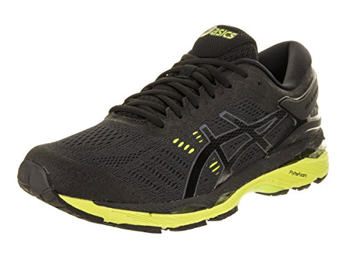 free shipping largest supplier pictures Asics Mens Gel-Kayano® 24 (2E) Shoes Black/Green Gecko/Phantom cheap store VJCBp5Tt