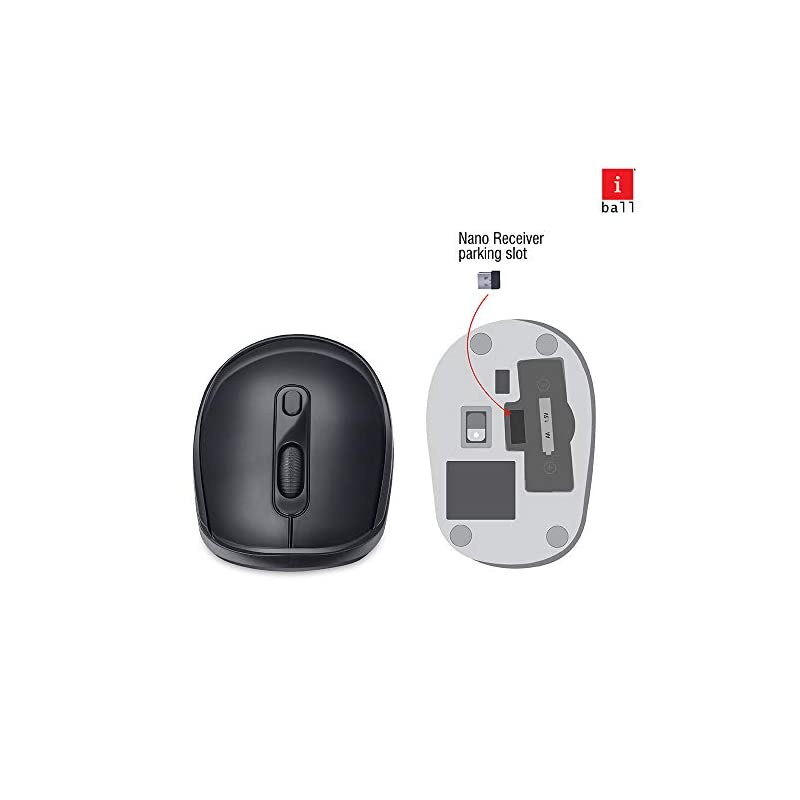 Best iBall Magical Duo 2 Wireless Multimedia Keyboard and Mouse Combo Set Online India