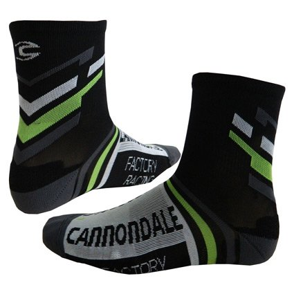 Cannondale 2015 Cannondale Factory Racing Cycling Socks - 3T490 (Cannondale Factory Racing - XL)