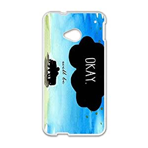 Happy Maybe Okay? Hot Seller Stylish Hard Case For HTC One M7