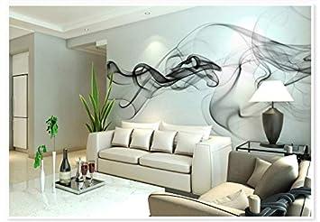 Wxlsl 3D Tapete Abstrakt Rauch Wandbild Tapete Für Wohnzimmer Tv ...