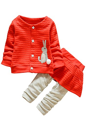 Kids Clothes Girl Baby Long Sleeve Cotton Clothing Pants Out