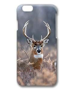 Whitetail Deer Sakuraelieechyan Hard Protective 3D PC Case for Iphone6