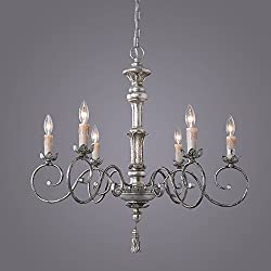 LNC 6-Light Pendant Light Traditional Chandelier L